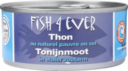 Fish4Ever tonijnmoot in water