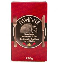 sardines bio knoflook en chili olie fish 4 ever kpni foodie